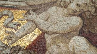 Археолози откриха рядка древноримска мозайка във Великобритания