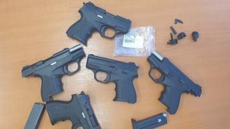 """5 пистолета задържаха на """"Капитан Андреево"""""""
