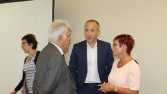 Кметът на Тетевен се срещна с министър Красимир Вълчев