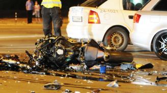 И двамата загинали в тежката мотокатастрофа в София нямали категория за мотор