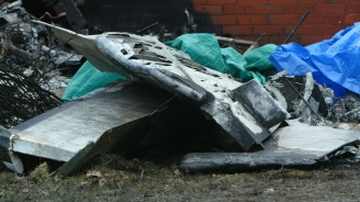 Никой не оцеля при падането на военния самолет в Русия