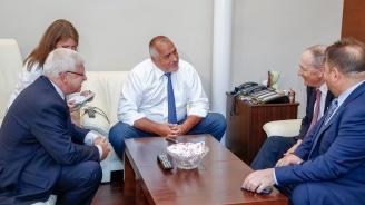 Борисов проведе среща с президента на Световната медицинска организация проф. Леонид Айделман