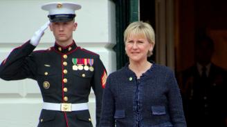 Шведският външен министър подаде оставка