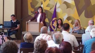 Нинова: Ловеч е поредният пример на събрана в едно гражданска и партийна подкрепа за промяна