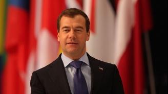 Дмитрий Медведев благодари на гласувалите руски граждани