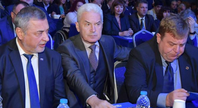 """Парламентарната група """"Обединени патриоти – НФСБ, АТАКА и ВМРО"""" да"""