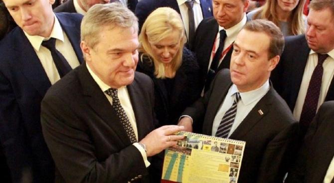 Лидерът на АБВ Румен Петков поздрави министър-председателя на Руската федерация