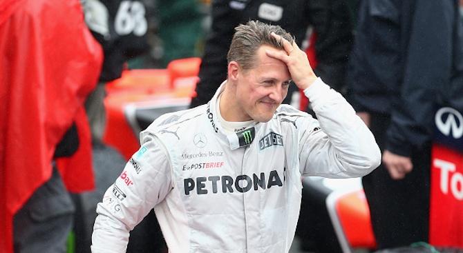 Легендарният пилот от Формула 1 и 7-кратен световен шампион -