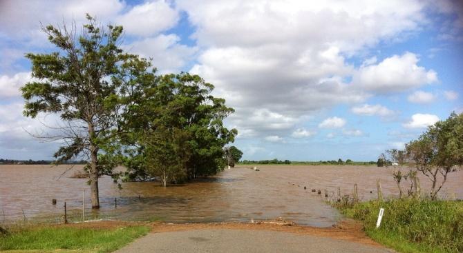 Снимка: Проливни дъждове предизвикаха хаос на остров Майорка