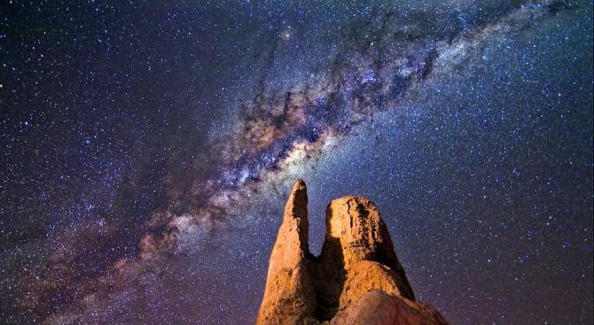 Международна група астрономи откри бягащата звезда PG 1610+062, която е