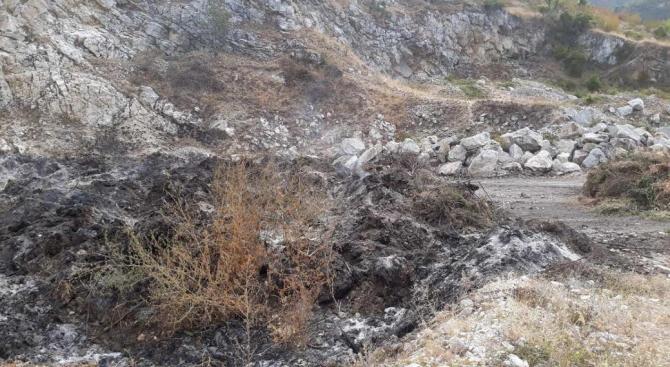 На 08.09.2019 г. (неделя) възниква пожар над гр. Куклен в
