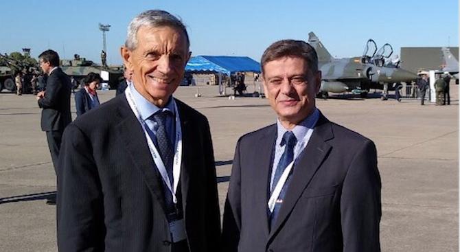 Председателят на Комисията по отбрана ген. Константин Попов участва в