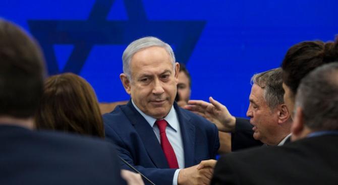 Израелският премиер Бенямин Нетаняху и руският министър на отбраната Сергей