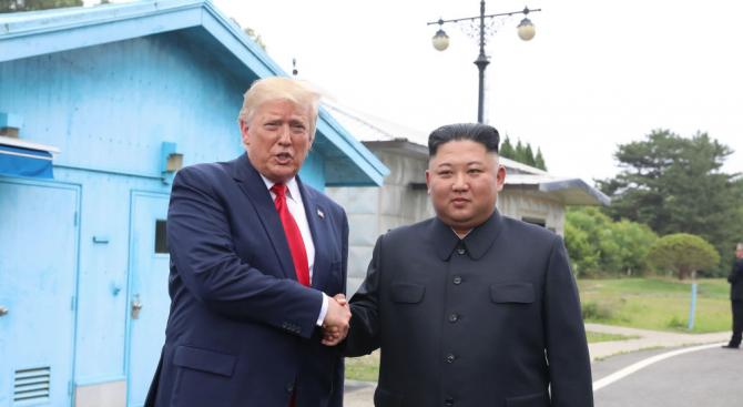 Президентът на САЩ Доналд Тръмп заяви пред репортери, че ще