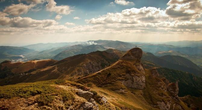 Във високите части на планините има вятър. В Стара планина