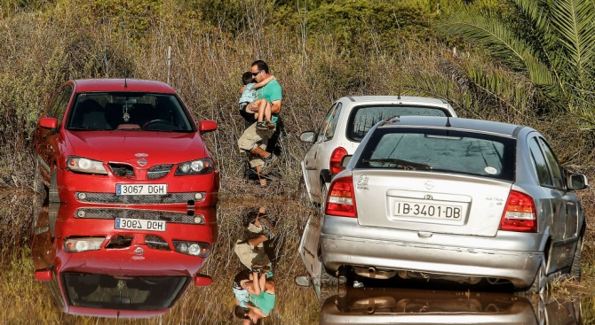 Бурята, преминаваща през Иберийския полуостров, взе три жертви в Алмерия,