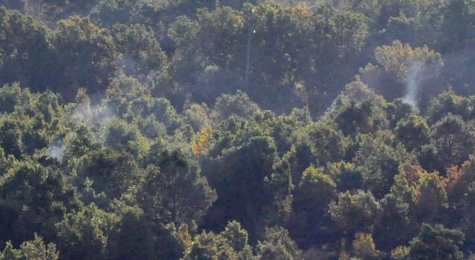 Пожарът край Котел е бил локализиран. Това съобщи за БТА