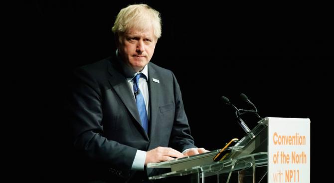 """Британският министър-председател Борис Джонсън беше приветстван като """"отличен политик"""" от"""