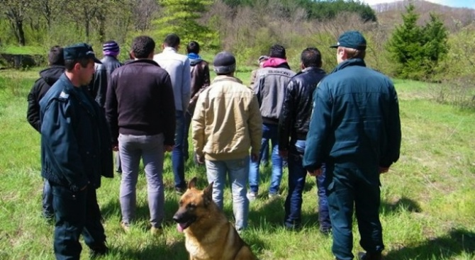 Нелегални мигранти и каналджии са задържани в района на българо-турската граница