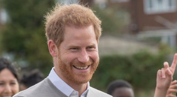 Британският Принц Хари навършва 35 години. По този повод той
