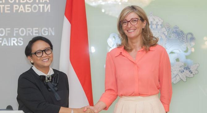 България счита Индонезия за приоритетен партньор в Югоизточна Азия с