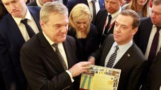 """Румен Петков поздрави Медведев за резултатите на """"Единна Русия"""" на местните регионални избори в страната"""