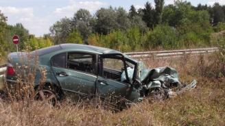 Челен удар на пътя Русе-Варна, има ранен
