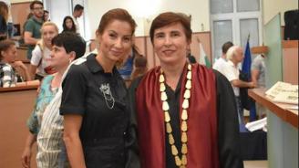 Учебната година в ХТМУ бе открита от световна шампионка