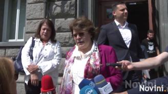 Татяна Дончева подкрепи Мая Манолова и обяви: Падне ли София, пада ГЕРБ