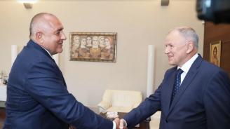 Борисов се срещна с европейския комисар по здравеопазване и безопасност на храните