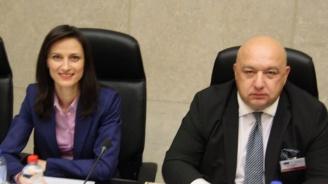 Министър Красен Кралев поздрави Мария Габриел