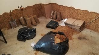 Граничари спипаха над 800 килограма тютюн с неплатен акциз в Пловдив