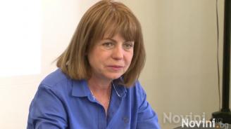 """Фандъкова: Сидеров често променя решенията си, нека представи """"Атака"""" на изборите"""