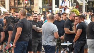 Арест за фоторепортер, опитал се да снима полицаи на протеста срещу Иван Гешев