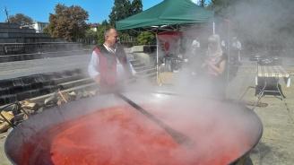 Третото издание на фестивала на розовия домат се провежда в София