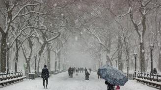 Първи сняг заваля в Турция