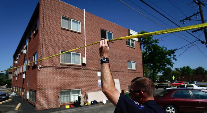 41-годишен мъж е извършил тройно убийство този понеделник, застрелвайки бившата