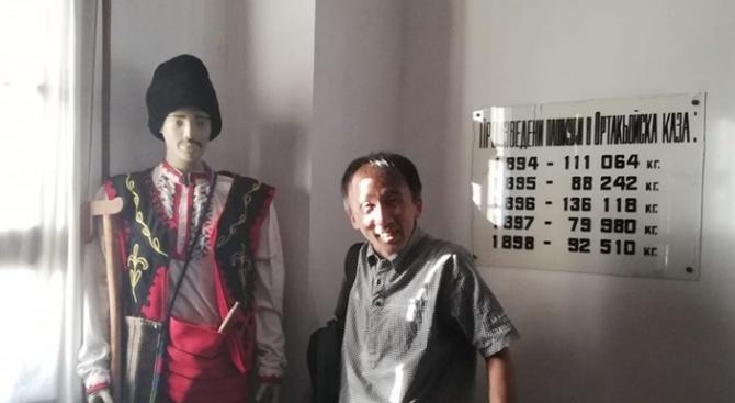 Японец прелетя хиляди километри, за да дойде в Ивайловград. Той