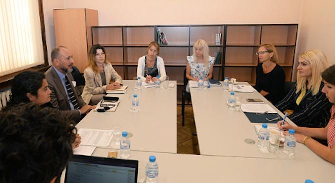 Заместник-министърът на правосъдието Десислава Ахладова запозна постоянния представител на Световната