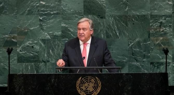 Генералният секретар на ООН Антониу Гутериш изтъкна значението на мултилатерализма,