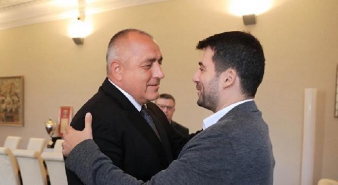 """Премиерът Бойко Борисов поздрави Желяз Андреев в социалната мрежа. """"Червената"""