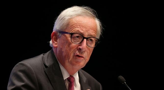 Председателят на Европейската комисия Жан-Клод Юнкер заяви вчера, че е