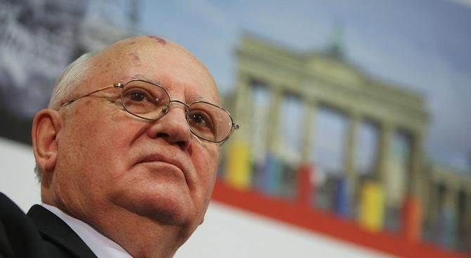 Последният съветски президент Михаил Горбачов скоро ще публикува нова книга,