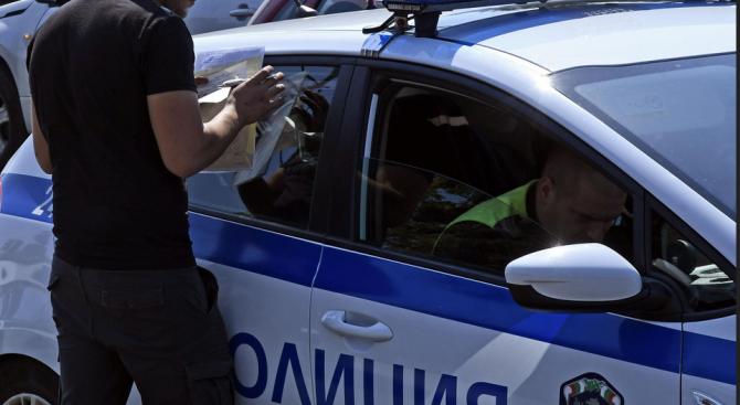 Досъдебно производство е образувано срещу водач, заловен от полицията да