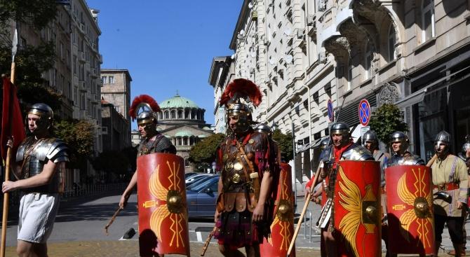 София се превръща в Древен Рим. Това ще се случи