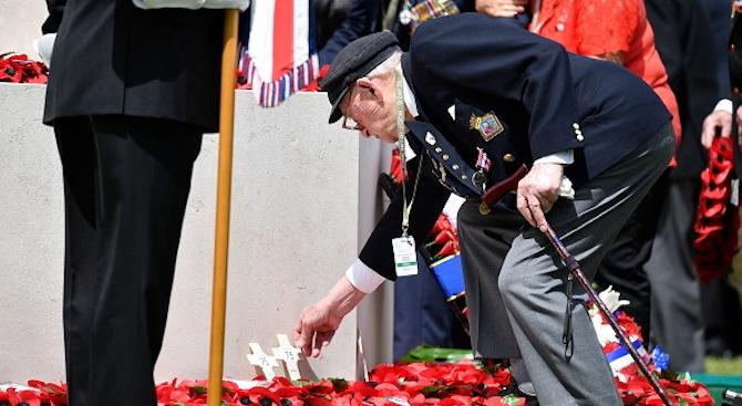 С парашутни скокове в Холандия бе чествана годишнина от военна операция през ВСВ