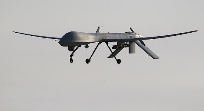 Въоръжен дрон бе свален днес в южната сирийска провинция Кунейтра,