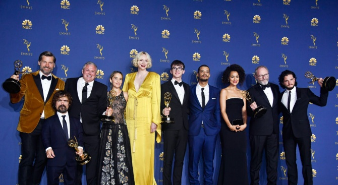 """Сериалът """"Игра на тронове"""" води с рекордни номинации на тазгодишните награди """"Еми"""""""