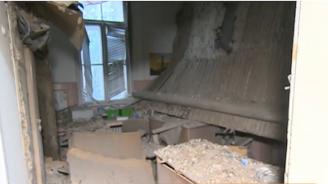 Падна таванът на лекарски кабинет в Александровска болница