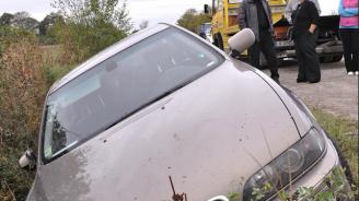 Катастрофа край Харманли, има ранени